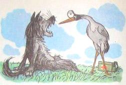 Краткое содержание волк и кот крылов